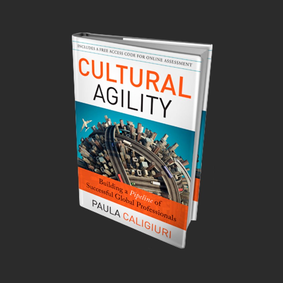 Book Cover | Design | Cultural Agility by Paula Caligiuri